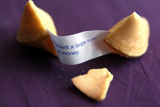 Inherited large sum fortune cookie