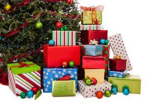 Pile of xmas presents