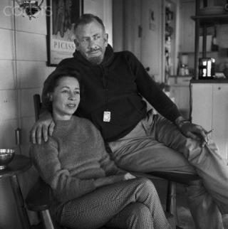 Steinbeck and Elaine